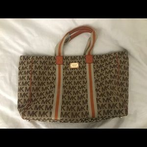 Large MK Travel Tote